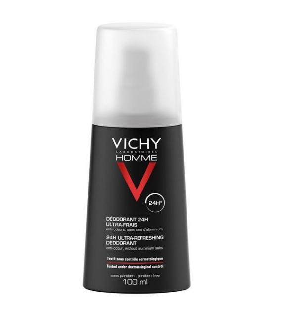 DESODORANTES - Vichy Homme Desodorante Spray 100 ML -