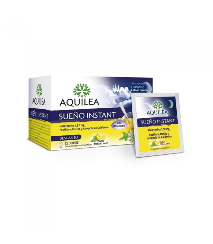 RELAJANTES - Aquilea Sueño Instant 1,95 mg 25 Sobres -