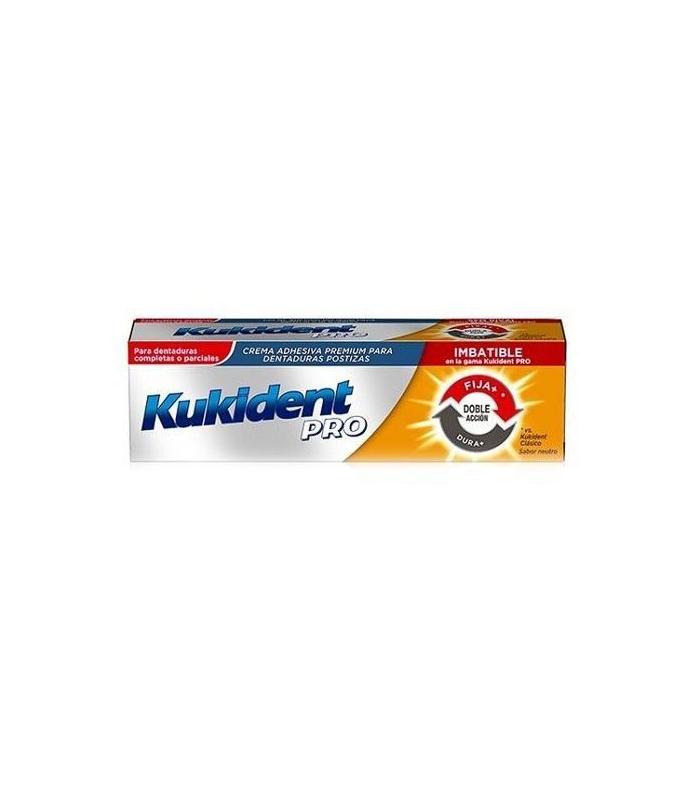 PRÓTESIS DENTALES - Kukident Pro Doble Accion 40 Gramos -