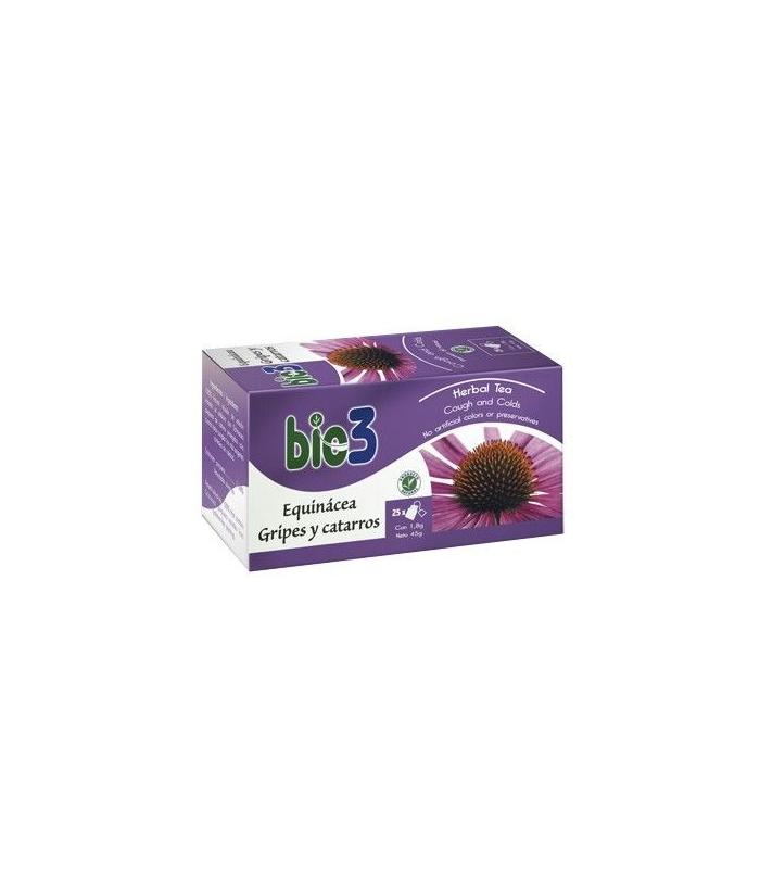 APARATO RESPIRATORIO - Bio3 Echinacea Gripe y Resfriados 25 Infusiones -