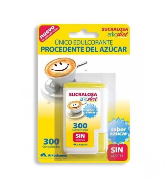 PRODUCTOS DE HERBOLARIO ONLINE - Arko Sucralosa Edulcorante 300 Comprimidos -