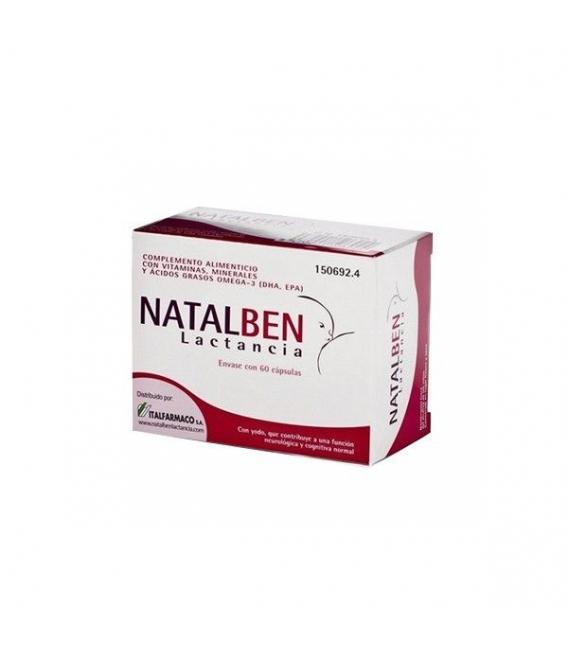 LACTANCIA - Natalben Lactancia 60 Cápsulas -