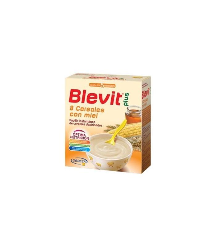 PAPILLAS - Blevit Plus 8 Cereales Con Miel 600 Gramos -