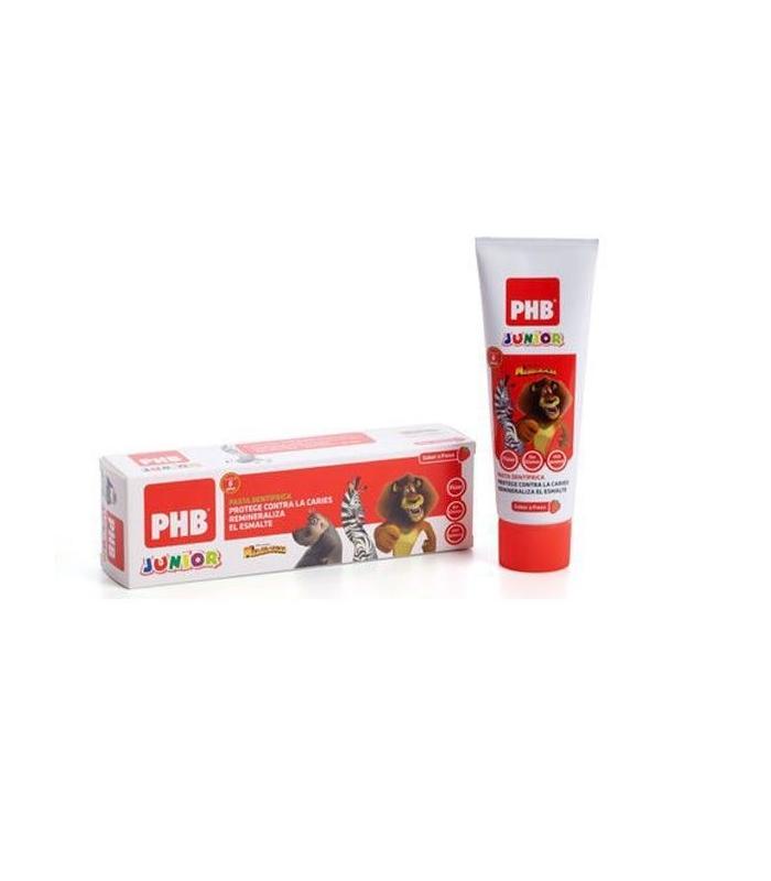 PHB Junior Pasta Dental Fresa 75 ML