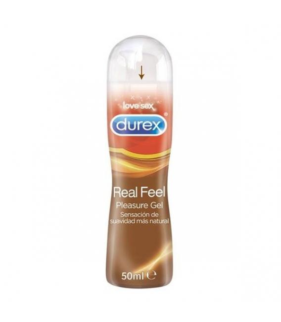 LUBRICANTES - Durex Real Feel Gel Vaginal Pleasure 50 Ml -