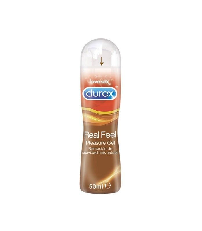 LUBRICANTES - Durex Real Feel Gel Vaginal Pleasure 50 Ml -
