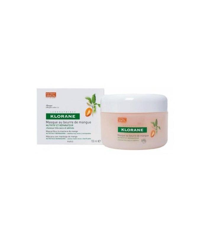 MASCARILLAS - Klorane Mascarilla Reparadora A La Manteca De Mango 150 ML -