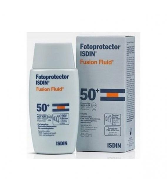 PROTECCIÓN FACIAL - Isdin Fotoprotector Spf50+ Fluido 50 ml -