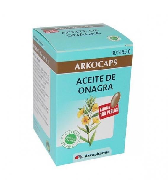 PRODUCTOS DE HIGIENE Y CUIDADO PERSONAL - Arkocapsulas Aceite De Onagra 100 Perlas -