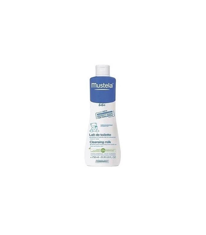 Mustela Locion limpiadora - Cleasing milk 750 Ml