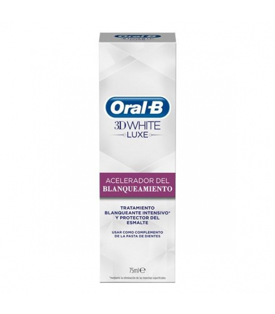 BLANQUEADORES - Oral B 3D White Acelerador del Blanqueamiento 75 ml -