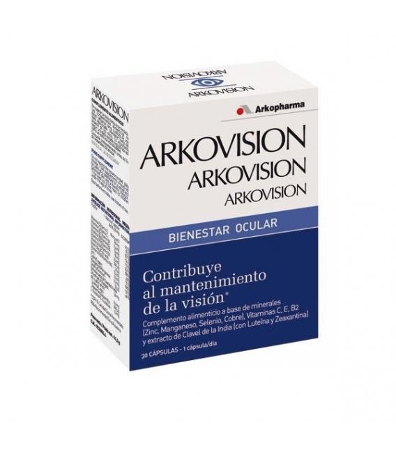 VITAMINAS - Arkovision Bienestar Ocular 30 Capsulas -