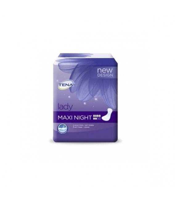 INCONTINENCIA - Tena Lady Compresa Maxi Night 12 Unidades -