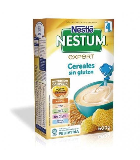PAPILLAS - Nestle Nestum Expert Cereales Sin Gluten 600 Gramos -