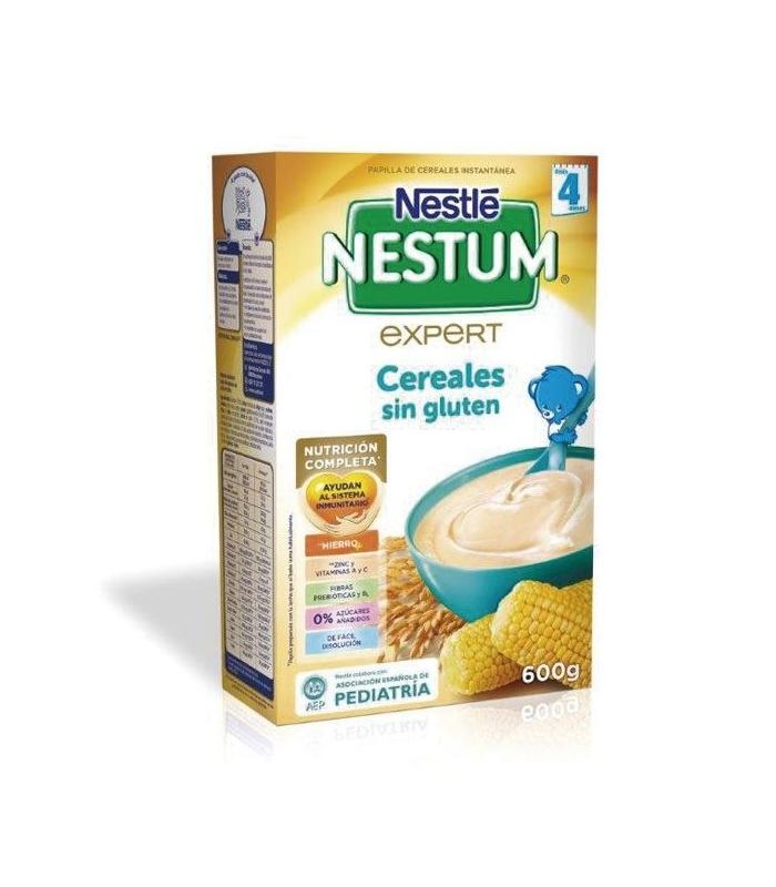 Nestle Nestum Expert Cereales Sin Gluten 600 Gramos