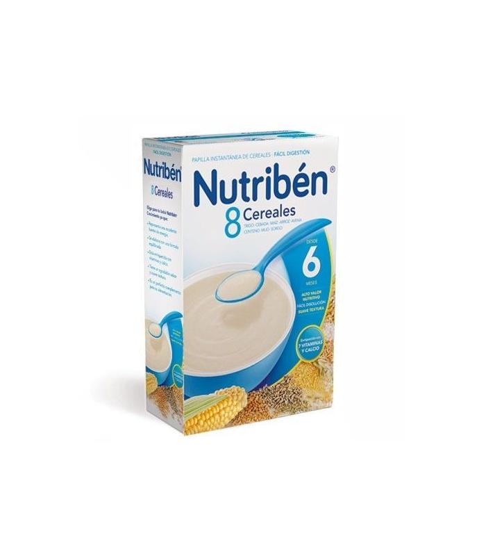 PAPILLAS - Nutriben 8 Cereales 300 Gramos -