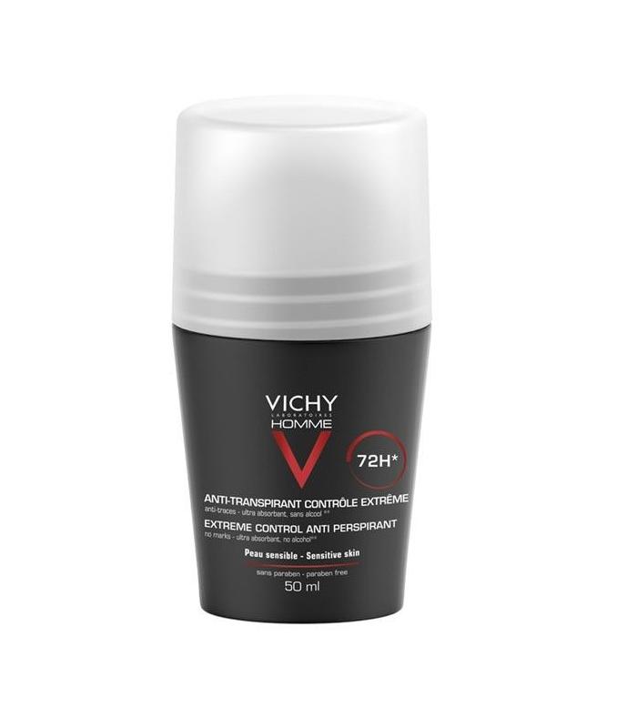 DESODORANTES - Vichy Desodorante Regulacion Intensa 72h Roll On 50 ml -