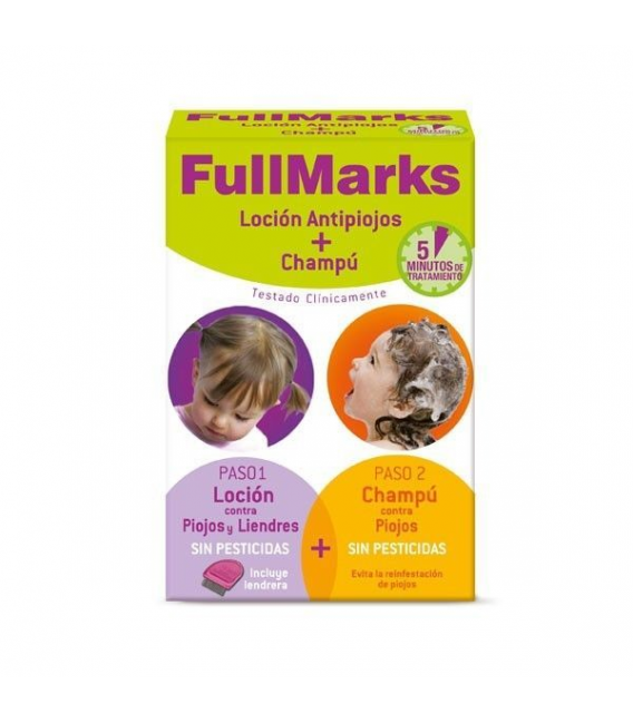 PIOJOS - Fullmarks Champu Post Tratamiento + Locion -