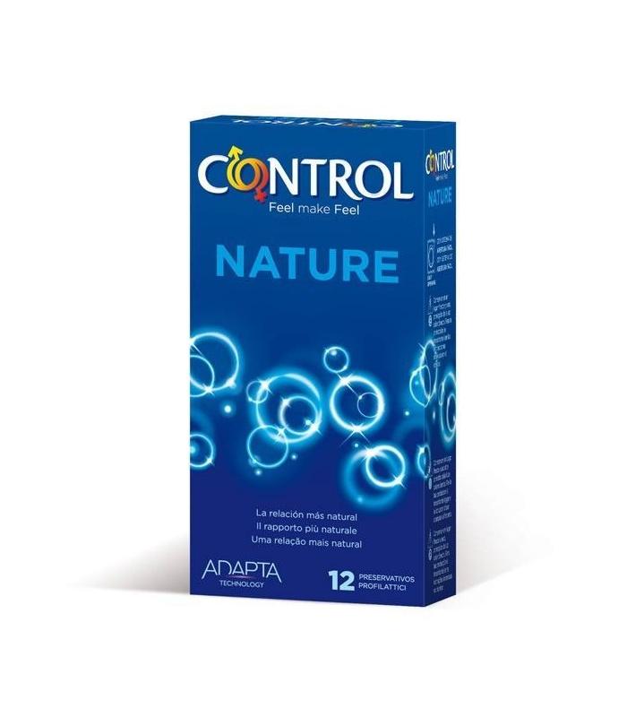 ANTICONCEPTIVOS - Control Adapta Nature 12 Preservativos -
