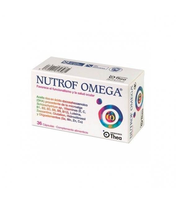 VITAMINAS - Nutrof Omega 36 Cápsulas -