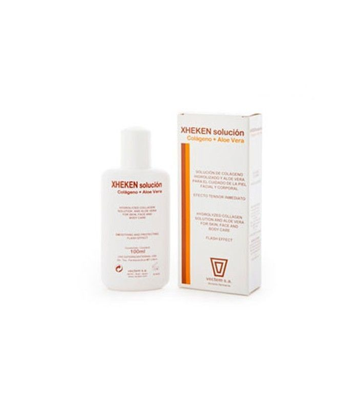 HIDRATACIÓN - Xheken Solución Colágeno y Aloe Vera 100 ml -