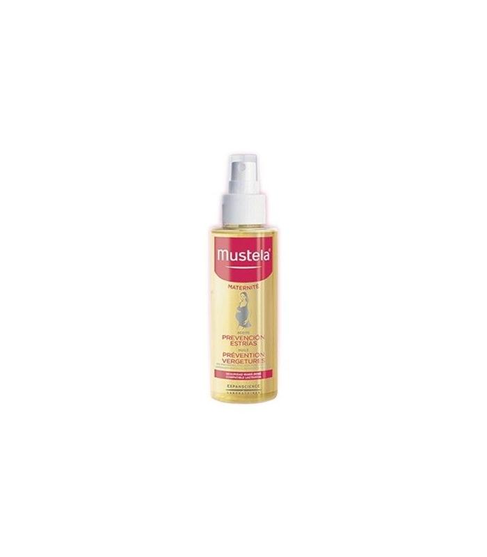 ANTIESTRÍAS - Mustela Aceite Prevención de Estrías 125ml -