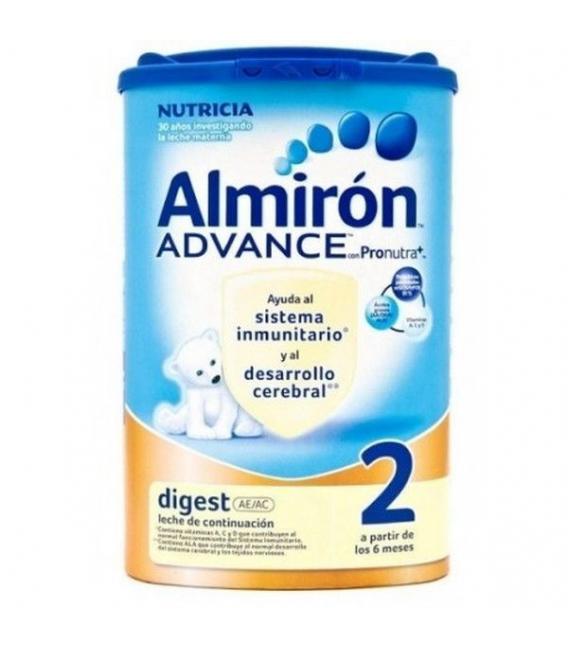 LECHES INFANTILES - Almiron Digest 2 AC/AE 800 gr -