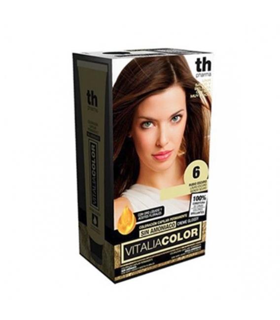 TINTES - TH Pharma Vitalia Color Tinte Nº 6 Sin Amoniaco Rubio Oscuro -