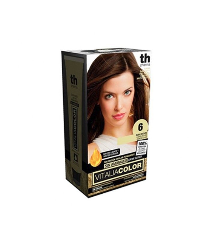 TH Pharma Vitalia Color Tinte Nº 6 Sin Amoniaco Rubio Oscuro