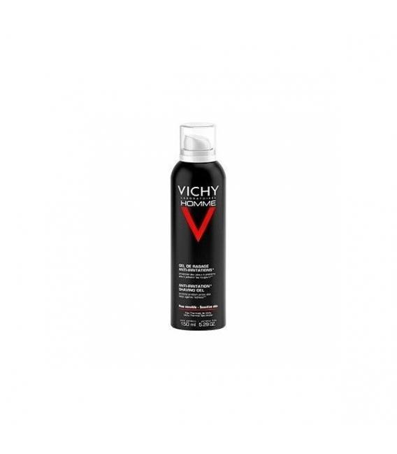 HOMBRE - Vichy Homme Gel Crema Afeitado Piel Sensible 150 ml -