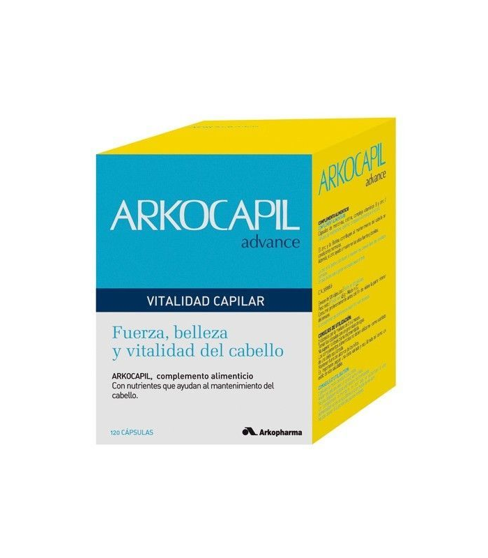 CABELLO - Arkocapil 120 Capsulas -