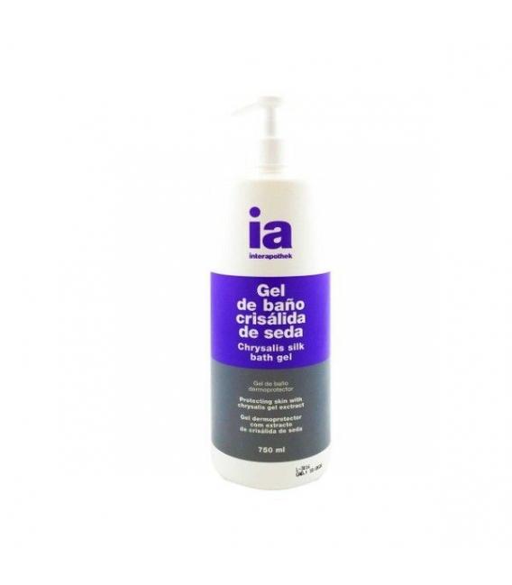 GELES - Interapothek Gel de Baño Crisálida de Seda 750 ml con dosificador -