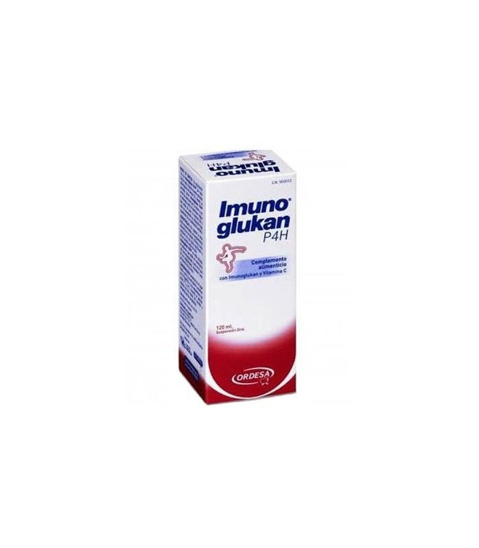 SUPLEMENTOS ALIMENTICIOS DE FARMACIA - Imunoglukan P4H Jarabe 120 ml -
