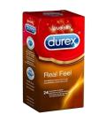 ANTICONCEPTIVOS - Durex Preservativos Real Feel 24 uds -