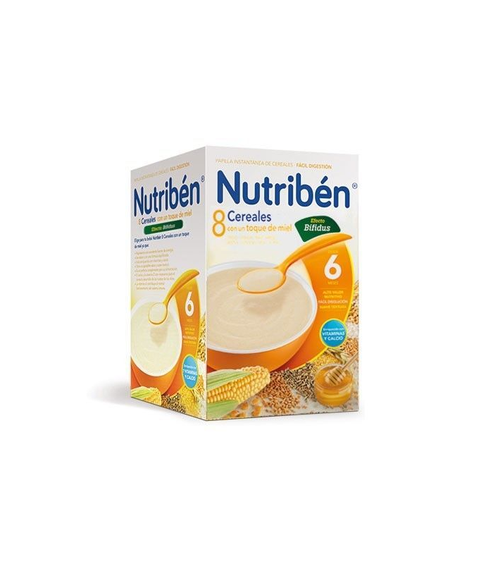 Nutriben 8 Cereales y Miel Efecto Bifidus 300 Gramos