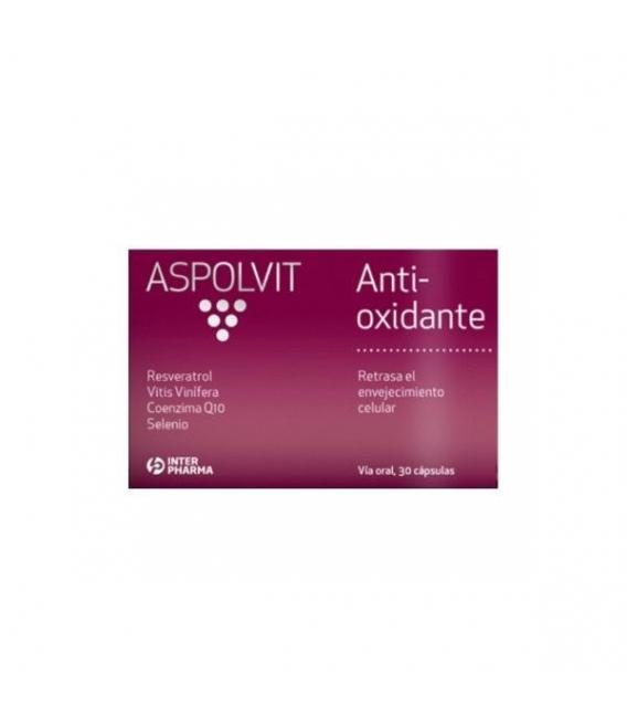 ANTIOXIDANTE - Aspolvit Antioxidante 30 Cápsulas -