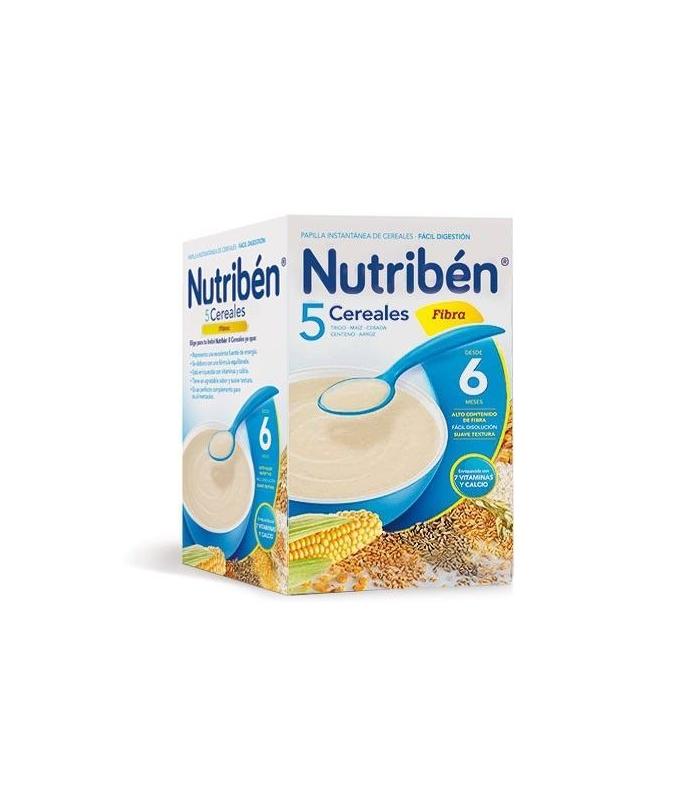 PAPILLAS - Nutriben 5 Cereales Fibra 600 Gramos -