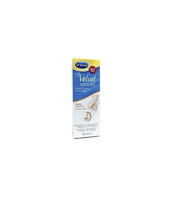 PIES - Scholl Velvet Smooth Crema Diaria Rapida Absorción 60ml -