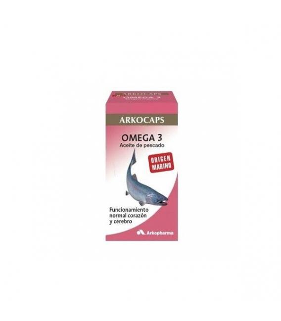 PRODUCTOS DE HERBOLARIO ONLINE - Arkocaps Omega 3 50 Cápsulas -