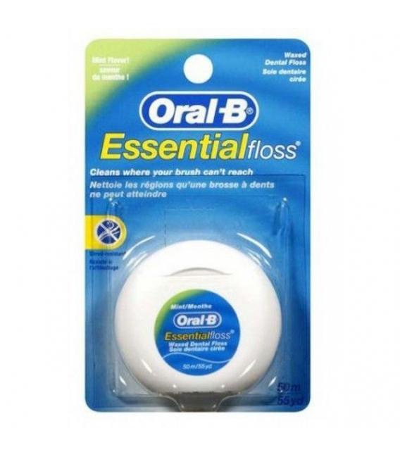 HILO DENTAL - Oral B Essential Floss Seda Dental 50m -
