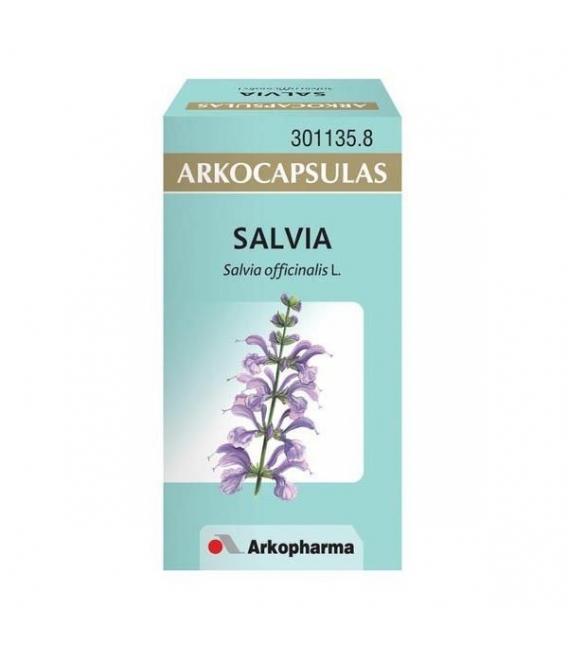 PRODUCTOS DE HERBOLARIO ONLINE - Arkocapsulas Salvia 50 Cápsulas -