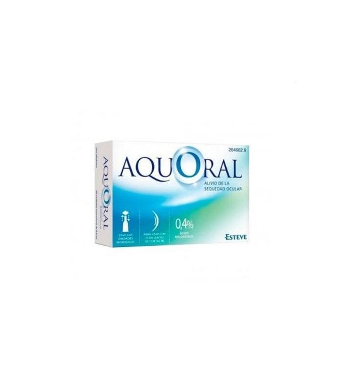 COLIRIO - Aquoral Gotas Oftalmólogicas 20 monodosis 0,5ml -