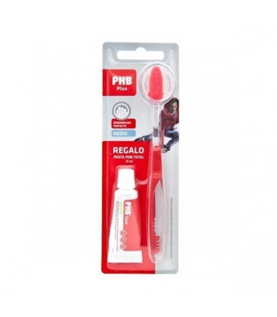 DENTAL - Phb Plus Cepillo Medio + Pasta Dental Total 15 ml -