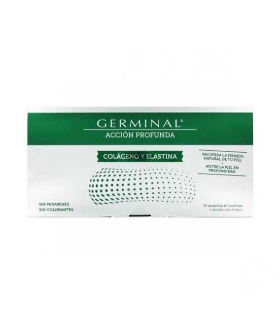 ANTIARRUGAS - Germinal Accion Profunda Colageno Y Elastina 30 Ampollas -