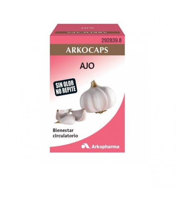 CIRCULACIÓN - Arkocapsulas Ajo 84 Cápsulas -