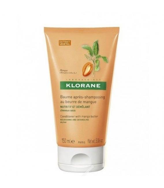 MASCARILLAS - Klorane Balsamo Nutritivo Desenredante Manteca De Mango 150 ML -