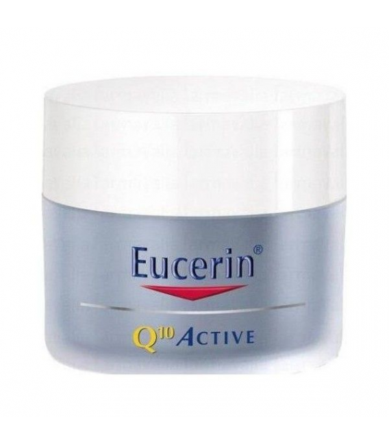 PRODUCTOS DE COSMÉTICA DE FARMACIA - Eucerin Q10 Active Antiarrugas Noche 50ml -