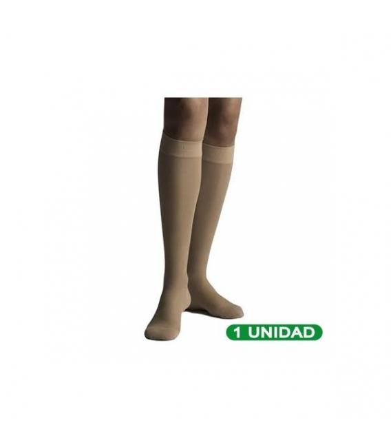 PRODUCTOS DE HIGIENE Y CUIDADO PERSONAL - Farmalastic Media Corta(A-D) Compresión Normal T-Reina Plus Beige 1ud -
