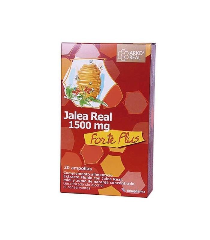 SUPLEMENTOS ALIMENTICIOS DE FARMACIA - Arkoreal Jalea Real Forte Plus 20 Ampollas -