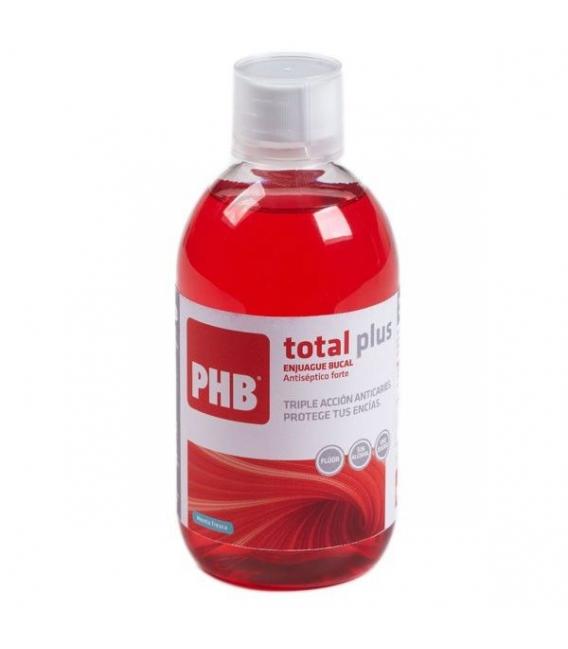 COLUTORIOS - PHB Total Plus Enjague Bucal 500 ml -
